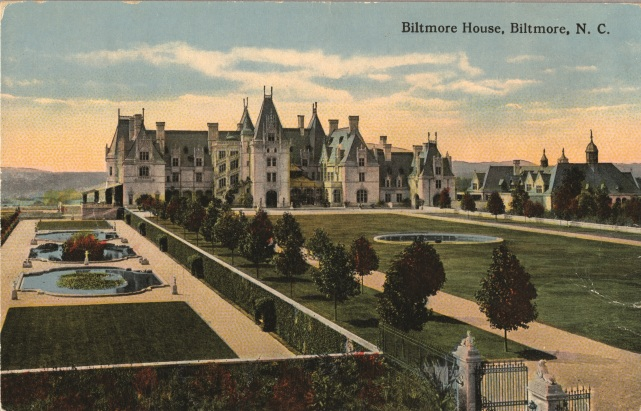 Biltmore House, the largest private residence in America, Asheville NC